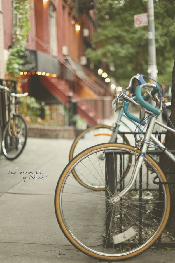 Beautiful Bikes In The East Village By Alice Gao Bicycle Bike