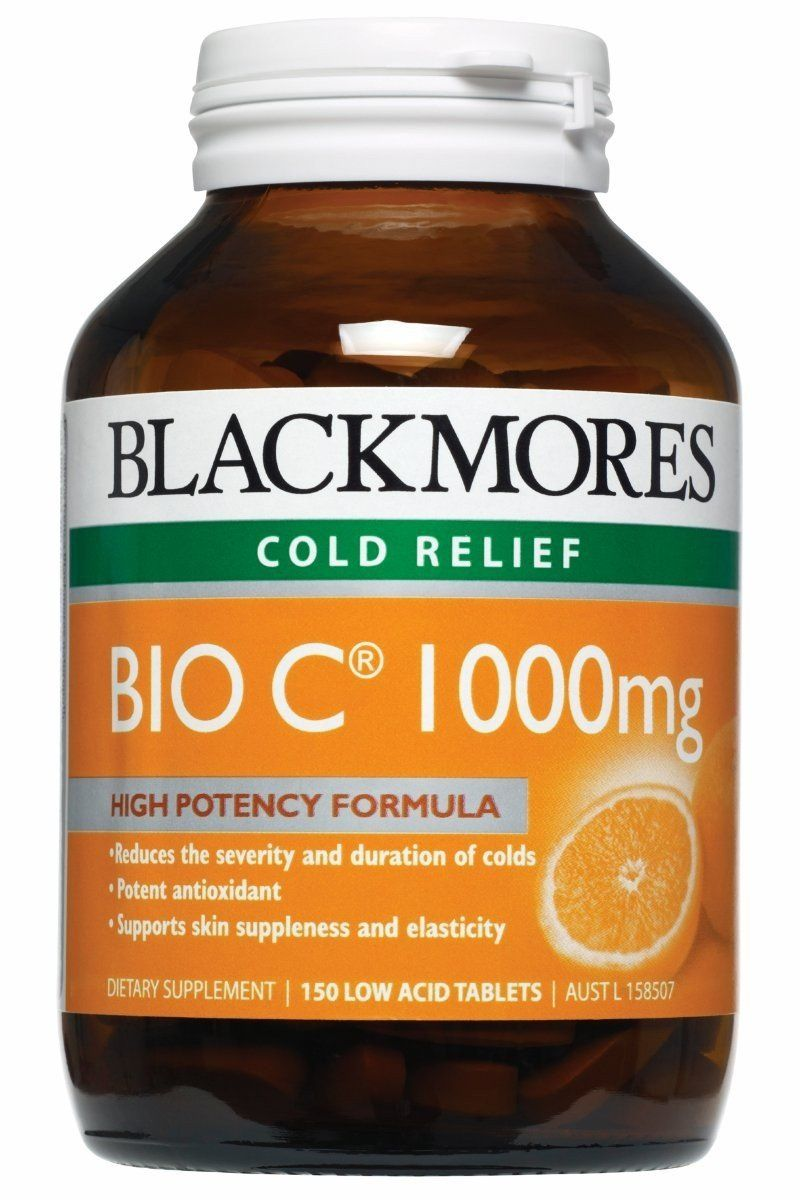 Blackmores Vitamins Bio C 1000 Mg; for