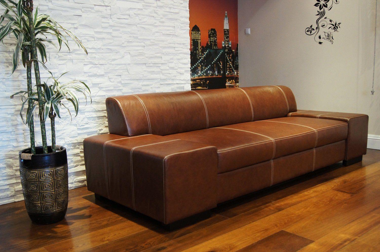 Quattro Meble Super Lange Echtleder 3 Sitzer Sofa London Breite 238cm Ledersofa Echt Leder Couch Groae Farbauswahl In 2020 Ledersofa Sofa 3 Sitzer Sofa