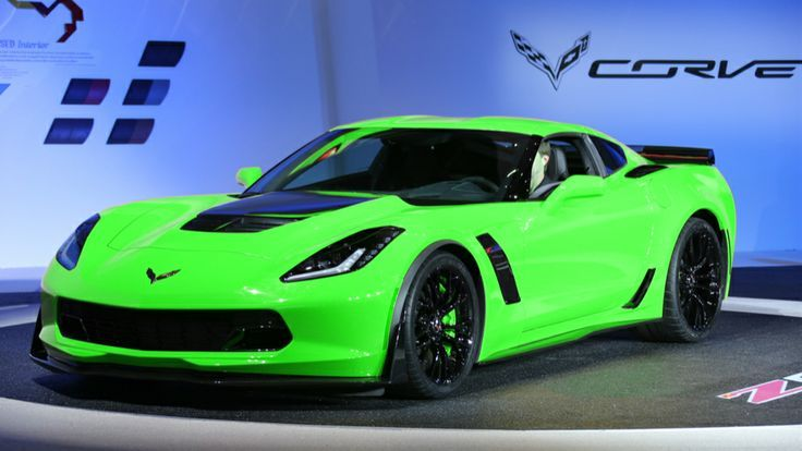 2015 corvette luv neon grn this is awesome due i wish i could have gotten 1 of these cars for my sweet 16 lol - Corvette 2015 White