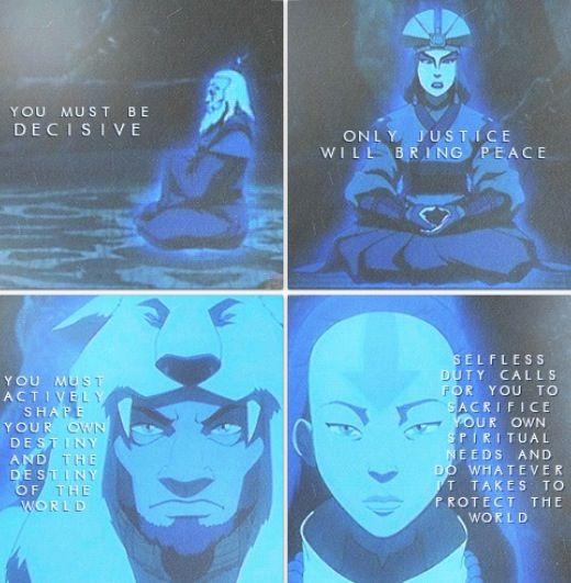 The Last Airbender Avatar Kyoshi: Avatar The Last Airbender: The Past Avatar's Giving Their