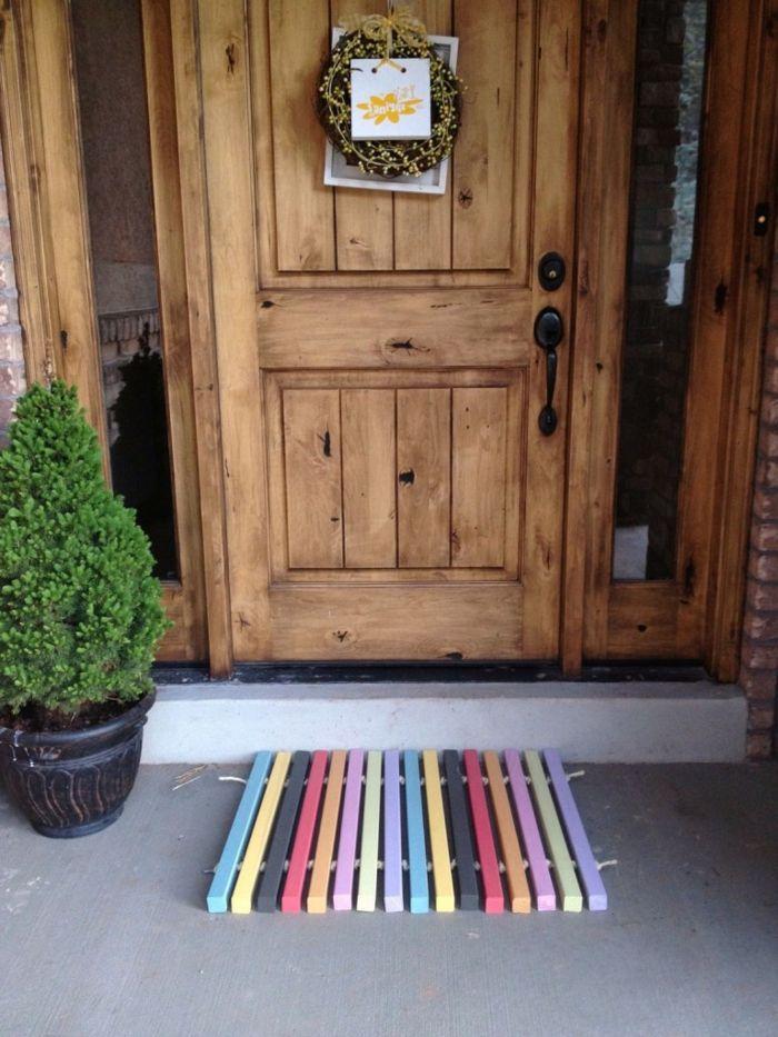 Front doors made of wood: 47 unique models! – Archzine.net