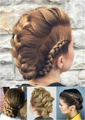 Imagenes de peinados recogidos con rulos