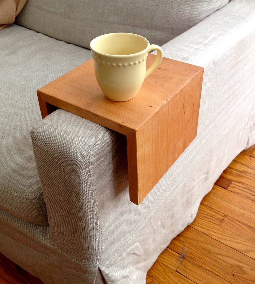 Awesome Reclaimed Wood Couch Arm Table By Reclaimed PA On Scoutmob Shoppe. Choose  The Width Of