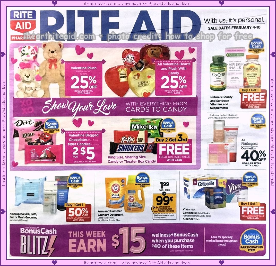 Rite Aid Ad For 02 04 02 10 View It Here Http Www Iheartriteaid Com 2018 01 0204 0210 Html Riteaid C Valentine Plush Valentines For Singles Rite Aid