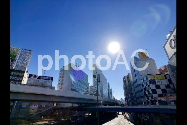上野駅前の街並み写真AC - No: 2212560/写真素材なら「写真AC」