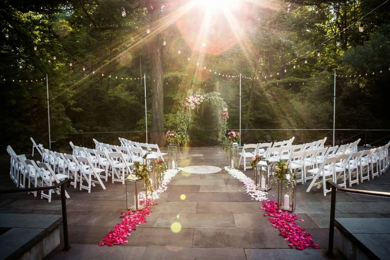 Claire Victoria S Stunning New York Botanical Garden Wedding