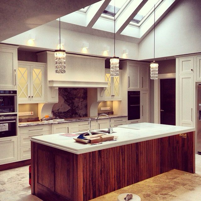 The Amazing Hand Made Kitchen In Slemish House Spa And Retreat Home Kitchens Home Interior Design