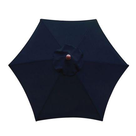 sunline 6ft navy blue market umbrella sow606 p04 patio