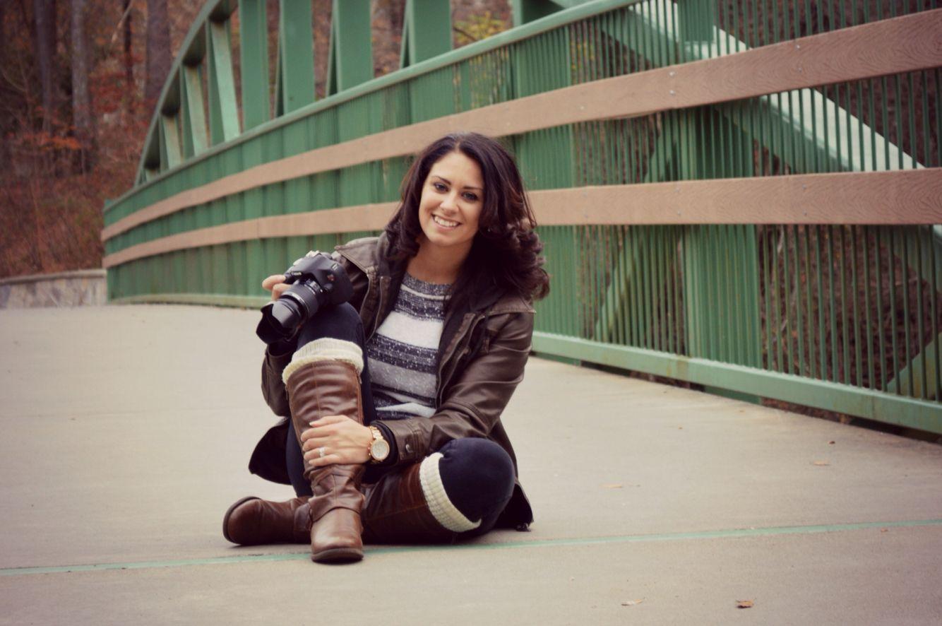 Photographer selfie. Greenville SC. Jeadra photography