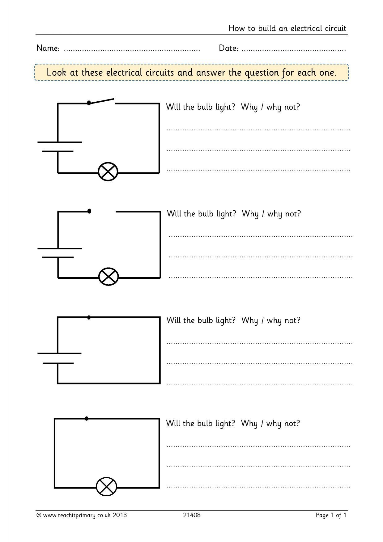 How To Build An Electrical Circuit With Images