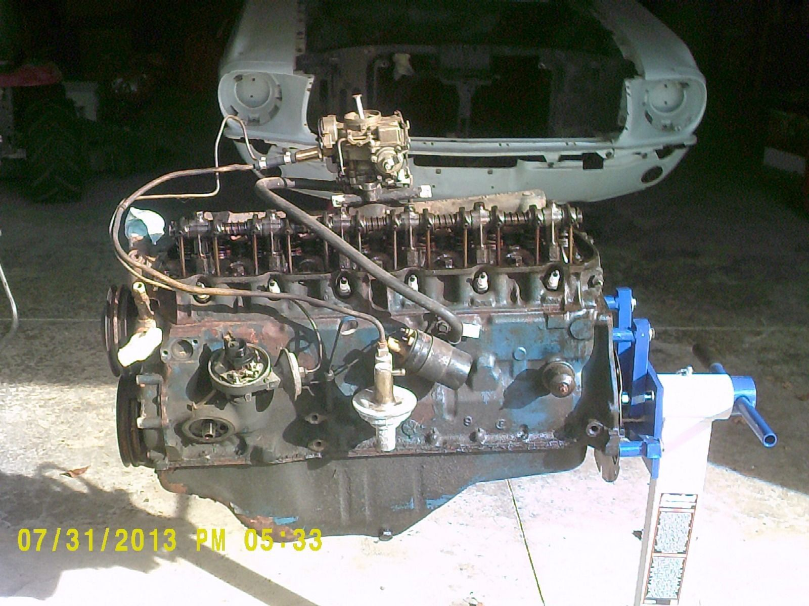 F Bf E B E A F Bf B on 1965 Ford Mustang 6 Cylinder Engine