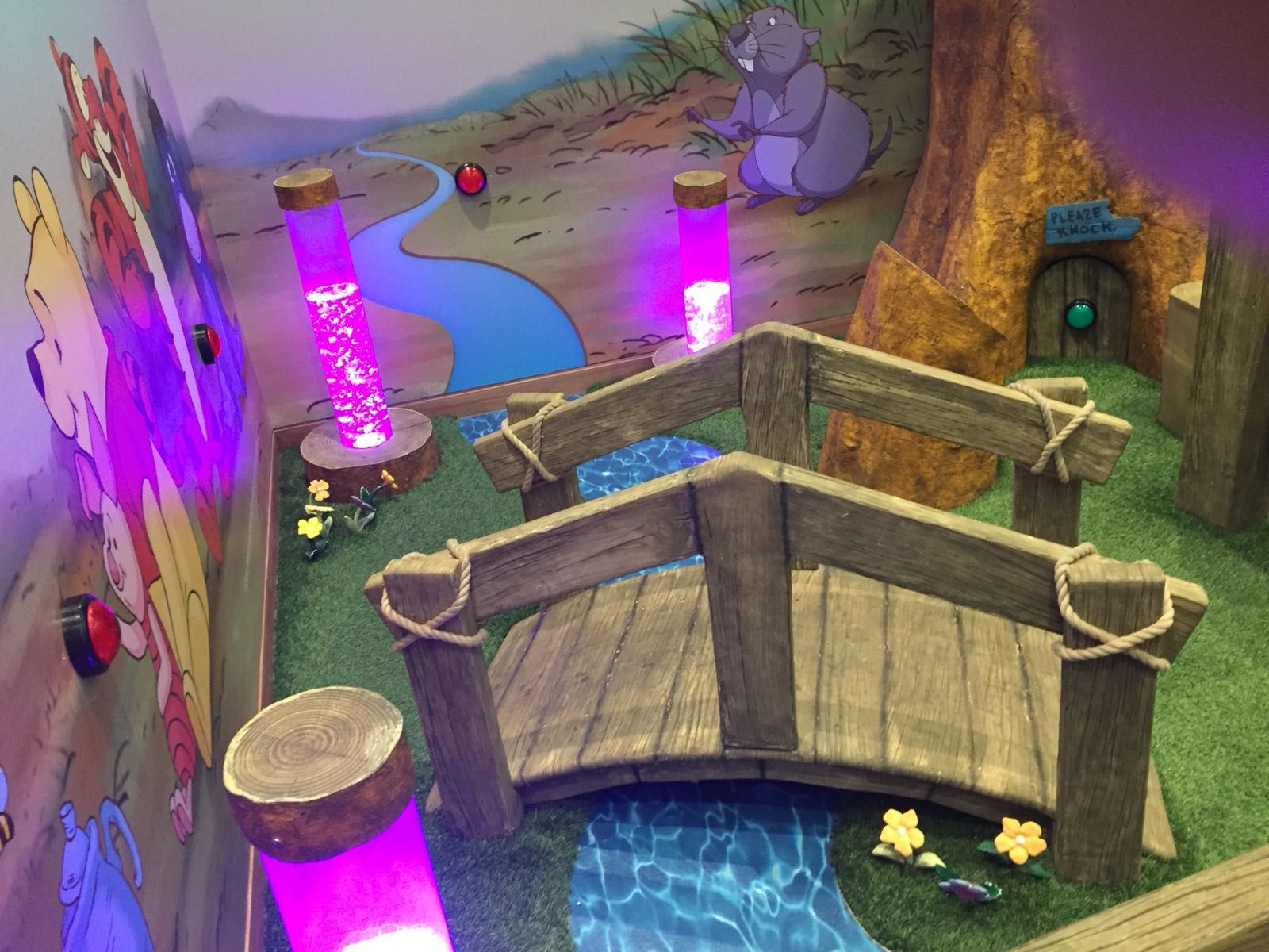 Take a look at this bridge one of the custom themed props ...