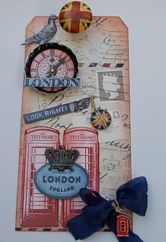 Tracy Evans: London Elements - Great idea for travel pages - use as title maybe?