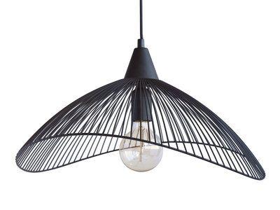 plafonniers et suspensions lighting suspension filaire plafonnier noir suspension m tal noir. Black Bedroom Furniture Sets. Home Design Ideas