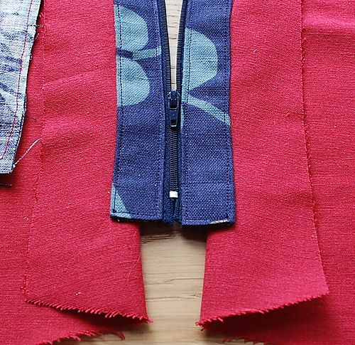 easy tutorial how to insert a concealed top edge bag zipper taschen anleitungen taschen