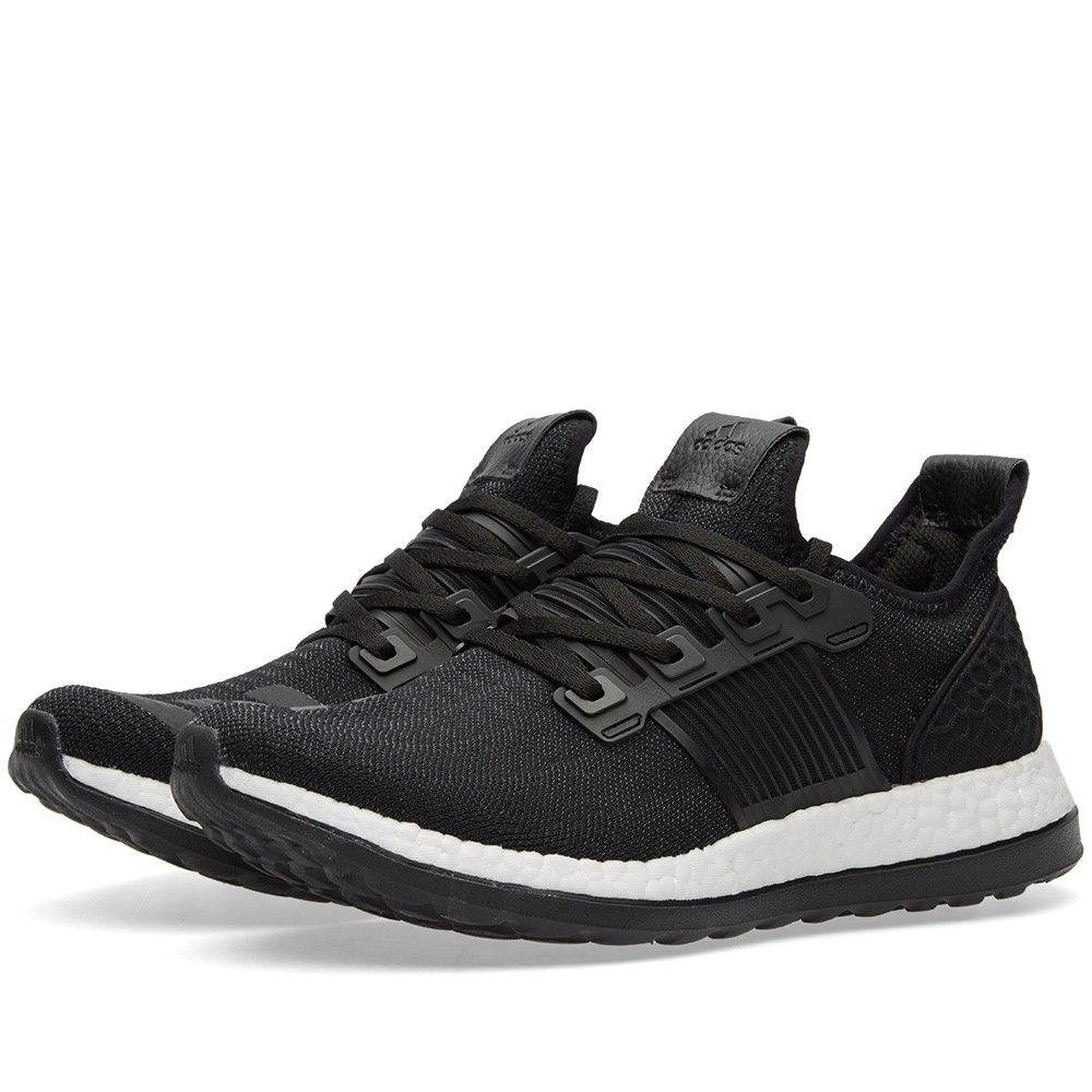 lowest price c6a9f ce864 adidas continue to evolve their efforts at creating the finest lightweight  runner. The Pure Boost ZG features an EVA outsole with full Boost midsole  ...