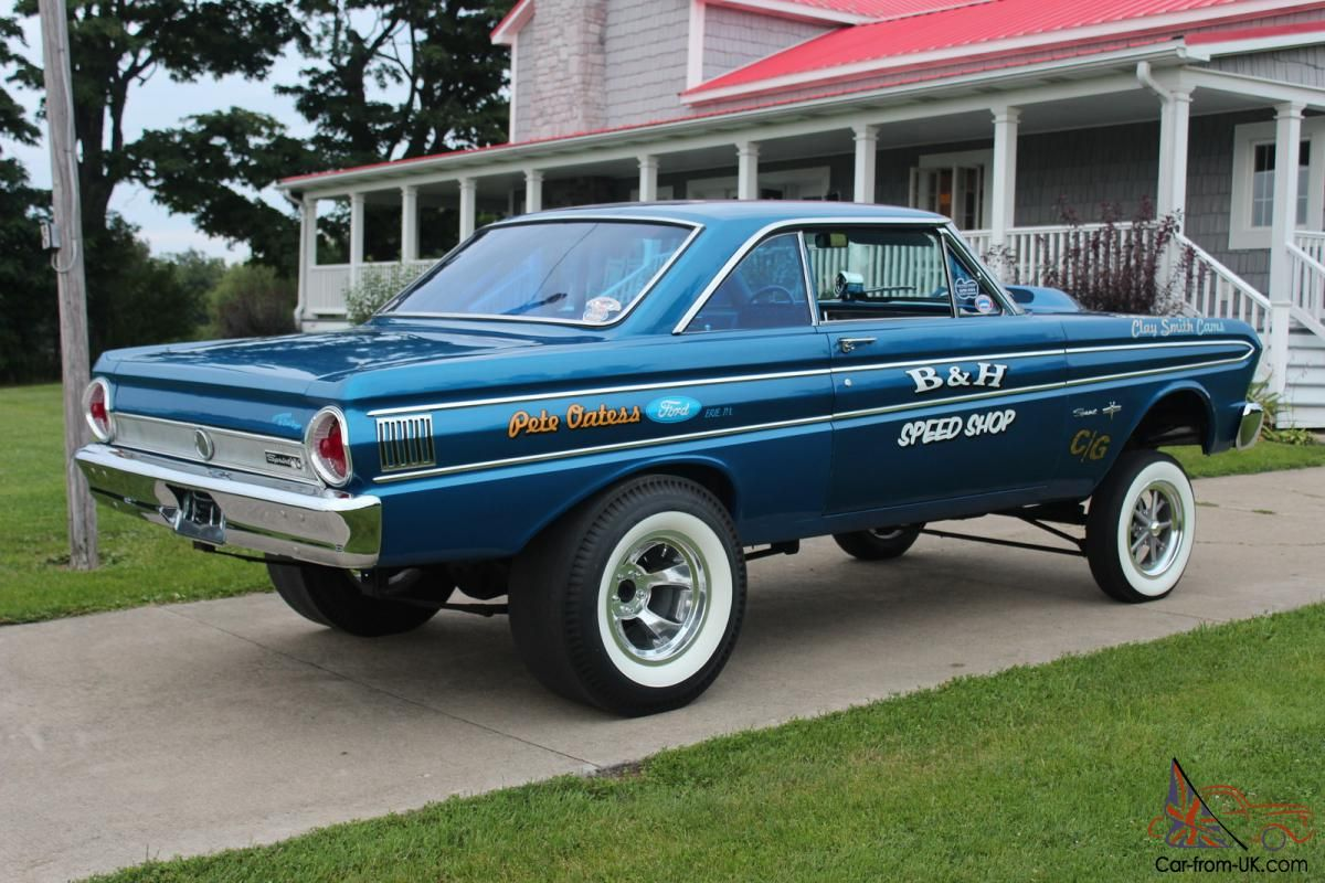 Old ford gassers 1964 ford falcon sprint gasser rust free