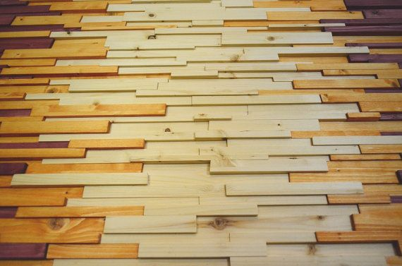wood wall art - \