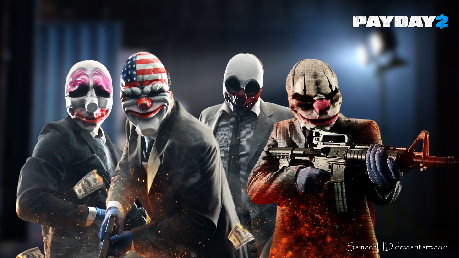 Payday 2 Hd Wallpaper 5 1920 X 1080 Stmednet Payday 2