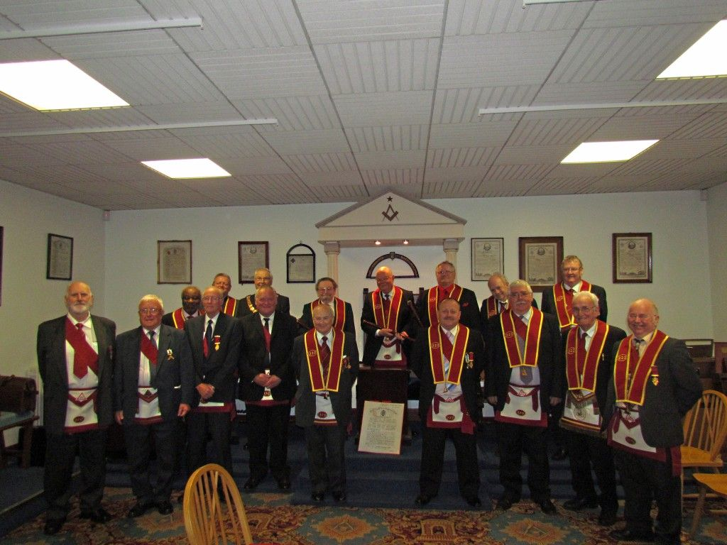 Visit to Crawfordsburn Masonic Hall by Chapter 222  | Royal