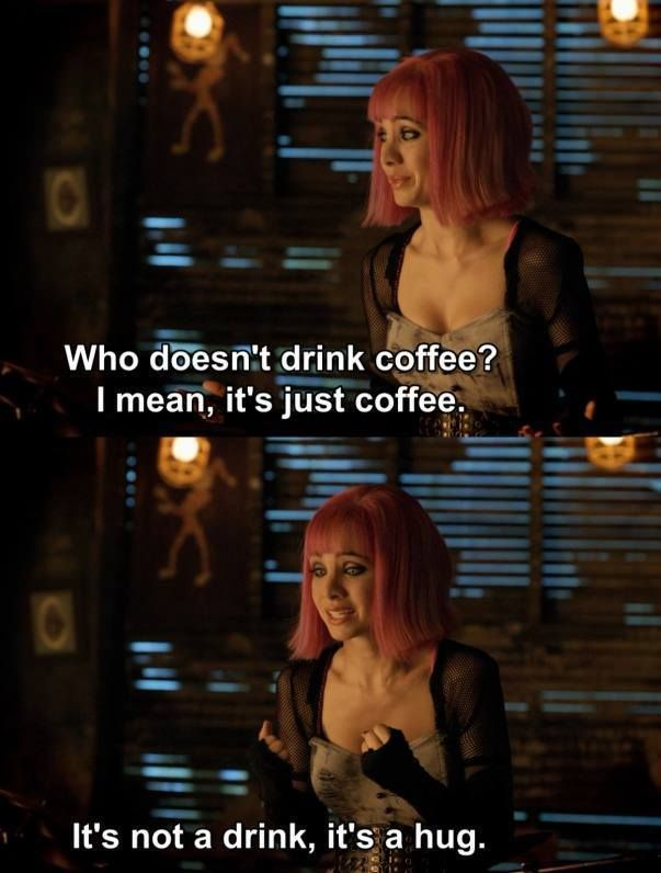 coffee cannot be just coffee!