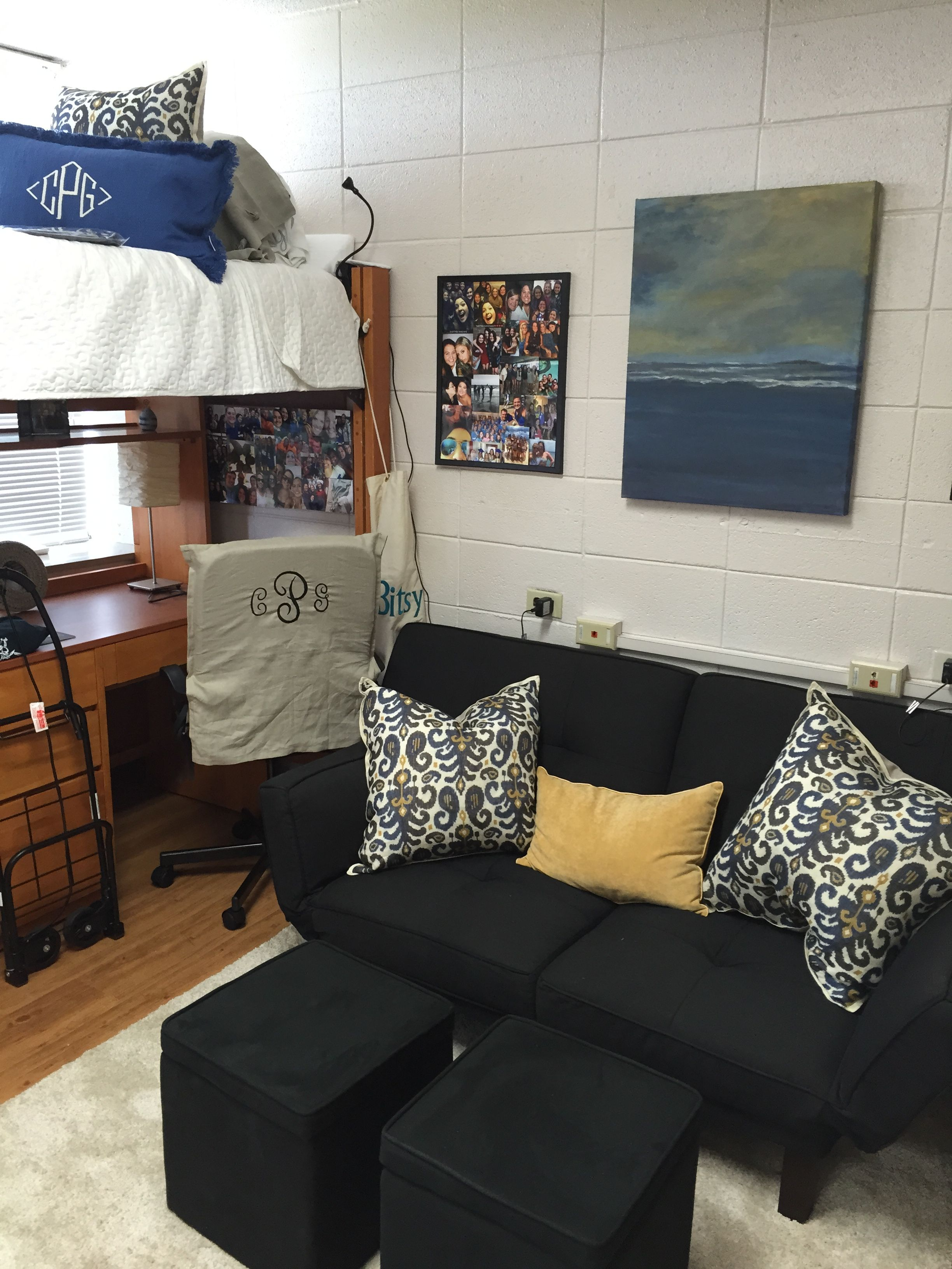 Dorm Room Styles: University Of Arkansas, Reid Hall Dorm Room