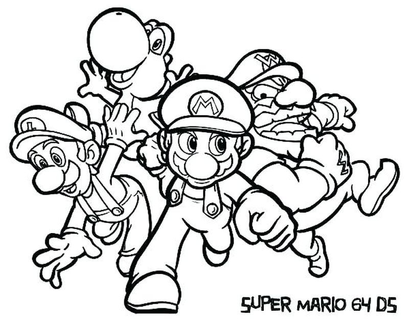Mario Super Sluggers Coloring Pages In 2020 Super Coloring Pages Mario Coloring Pages Avengers Coloring Pages