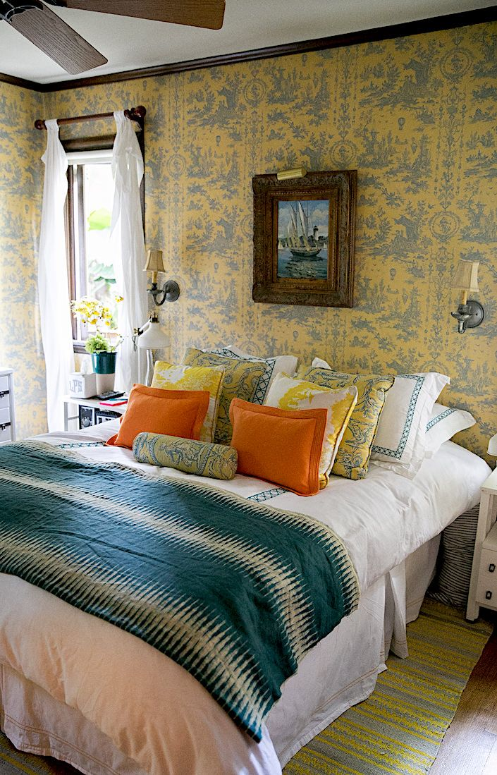 At home in los angeles with lulu powers bedroom home - Bedroom furniture in los angeles ...