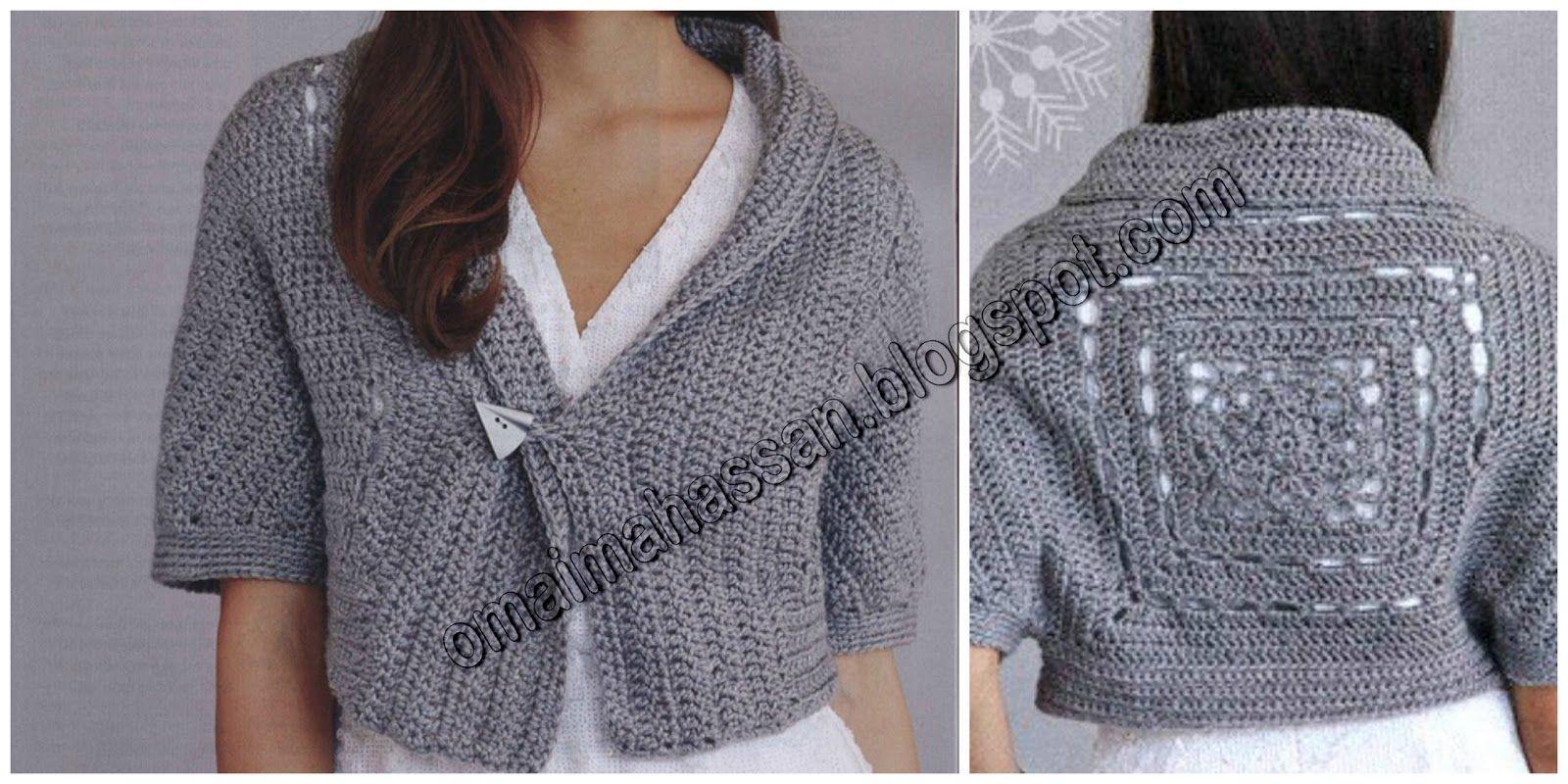 crochet kingdom (E.H): Sleigh Bolero !