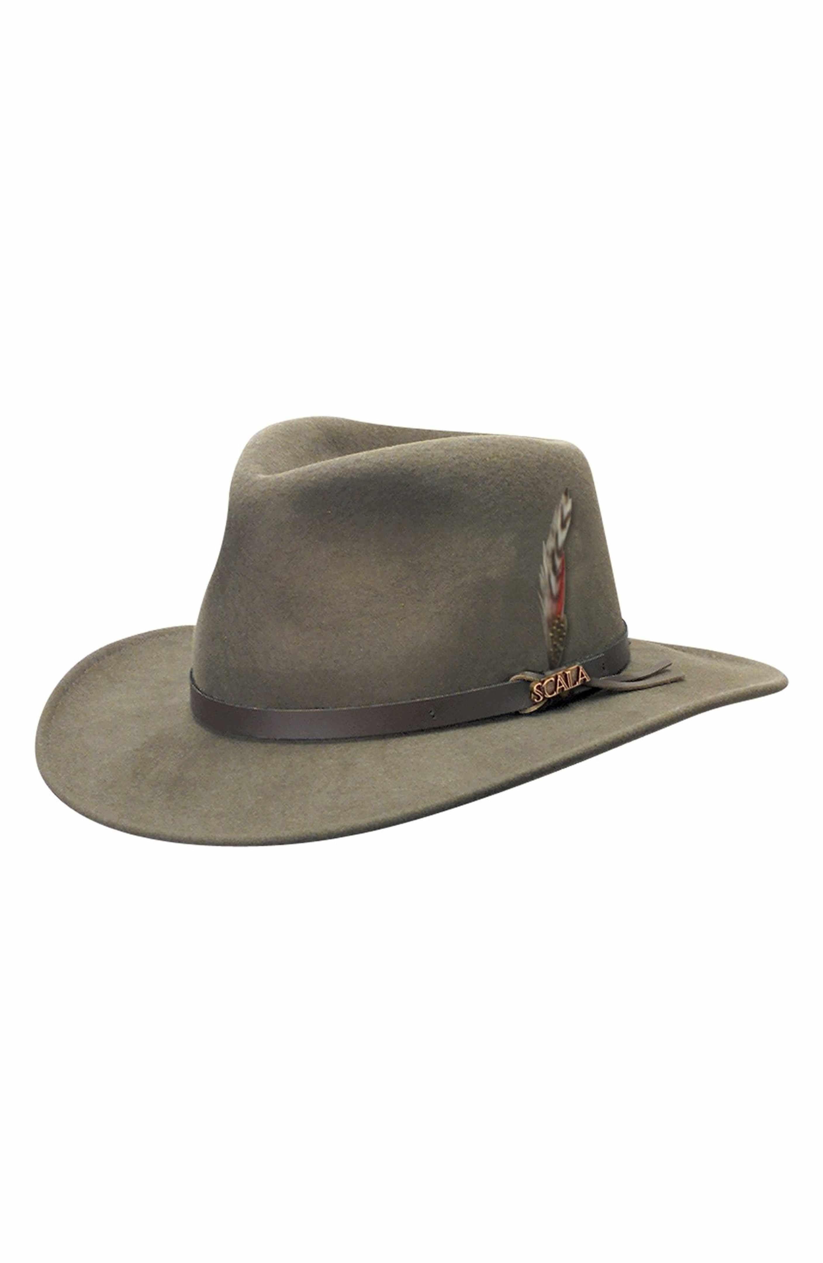 00c071afe19 Main Image - Scala  Classico  Crushable Felt Outback Hat