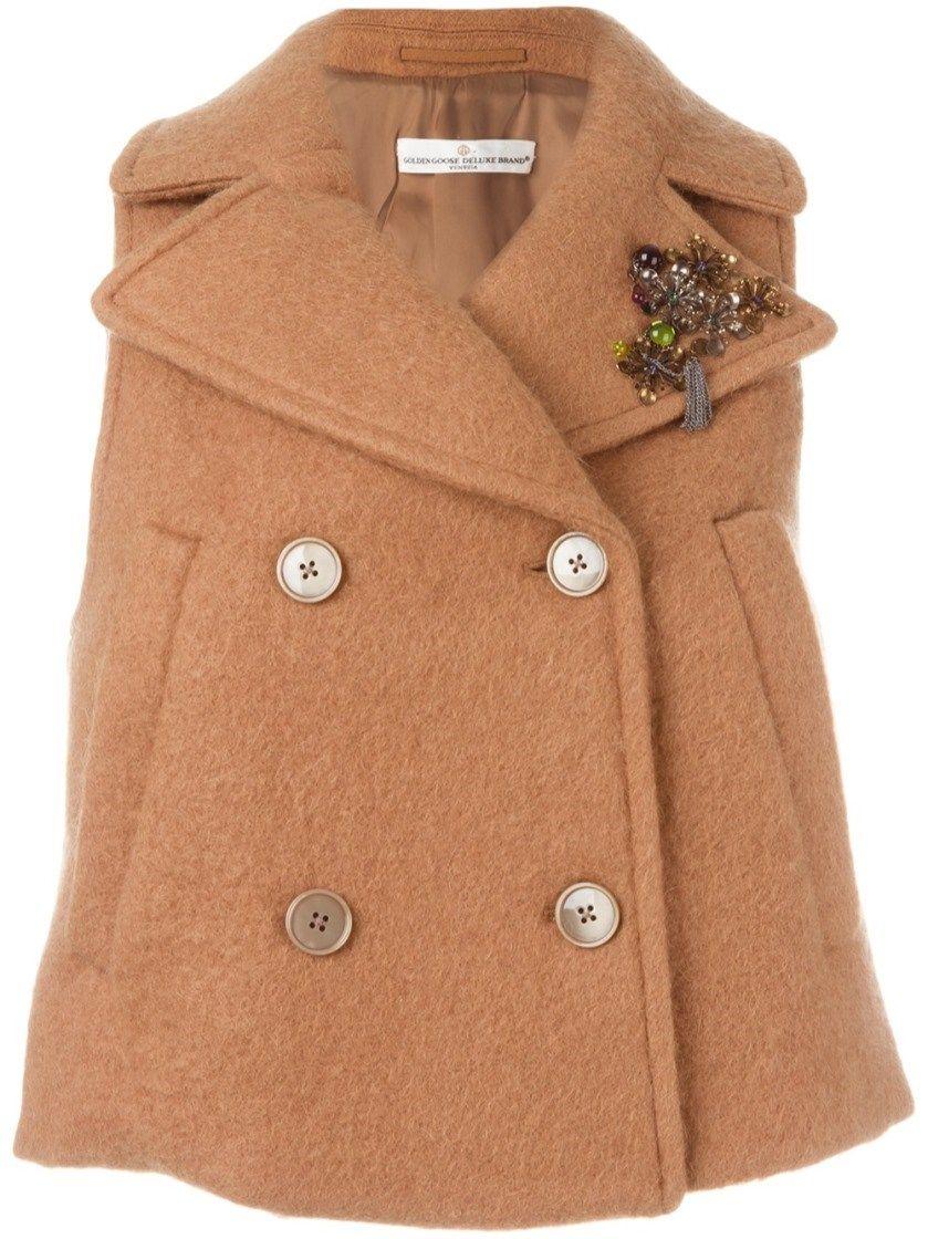GOLDEN GOOSE Sleeveless Jacket. #goldengoose #cloth #blazers