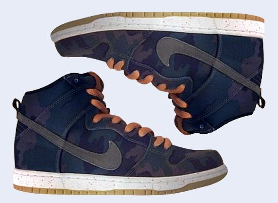 buy popular 79495 575f8 Nike SB Dunk High – Black  Olive Khaki  Sunset ... Beasty!