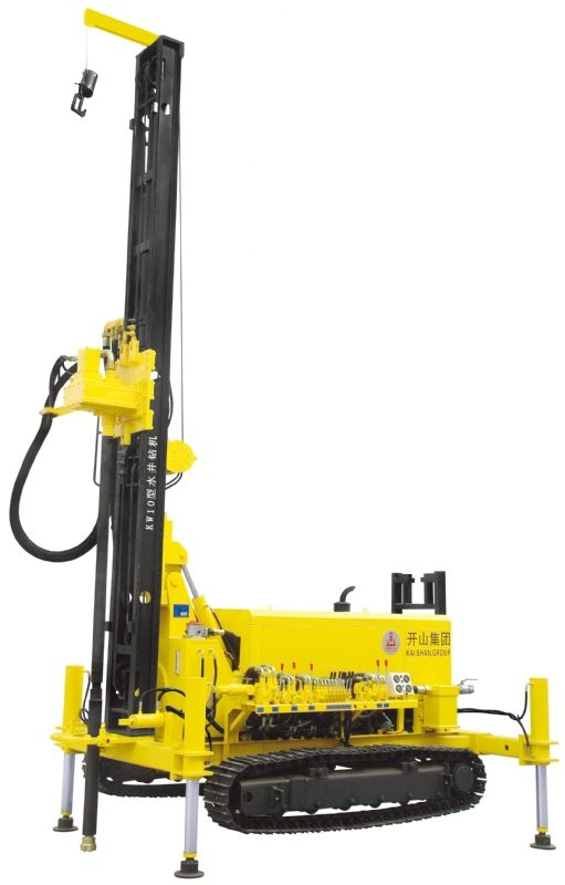 Multi-function KW10 type geothermal well drilling car is a