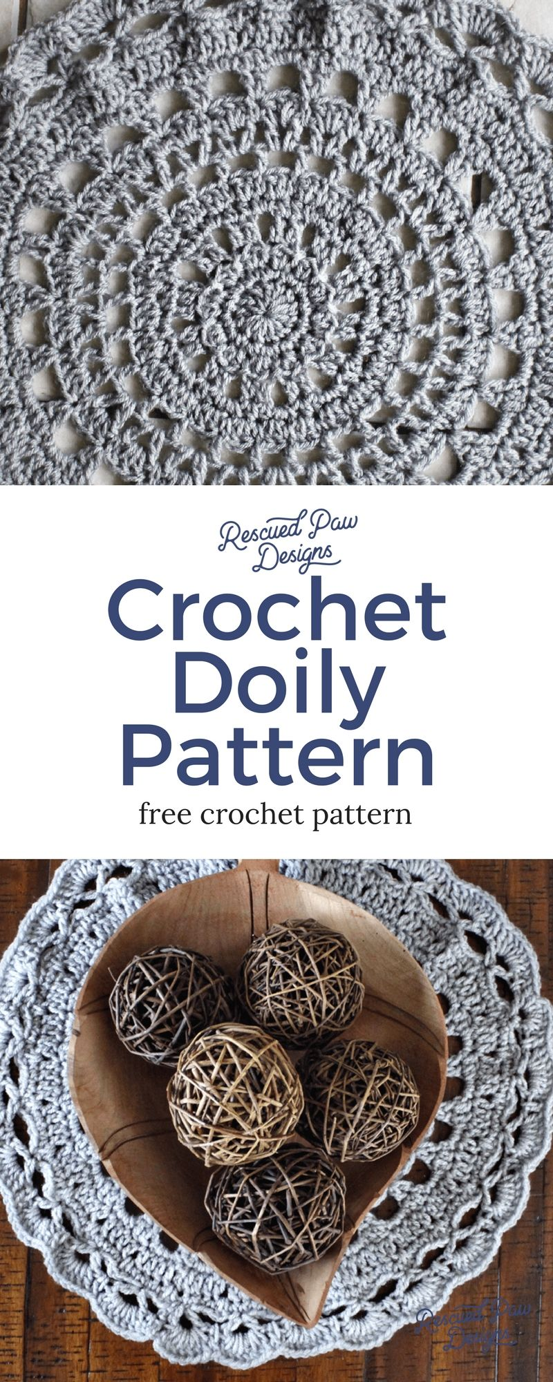 Doily crochet pattern rescued paw designs free crochet doily doily crochet pattern rescued paw designs bankloansurffo Image collections