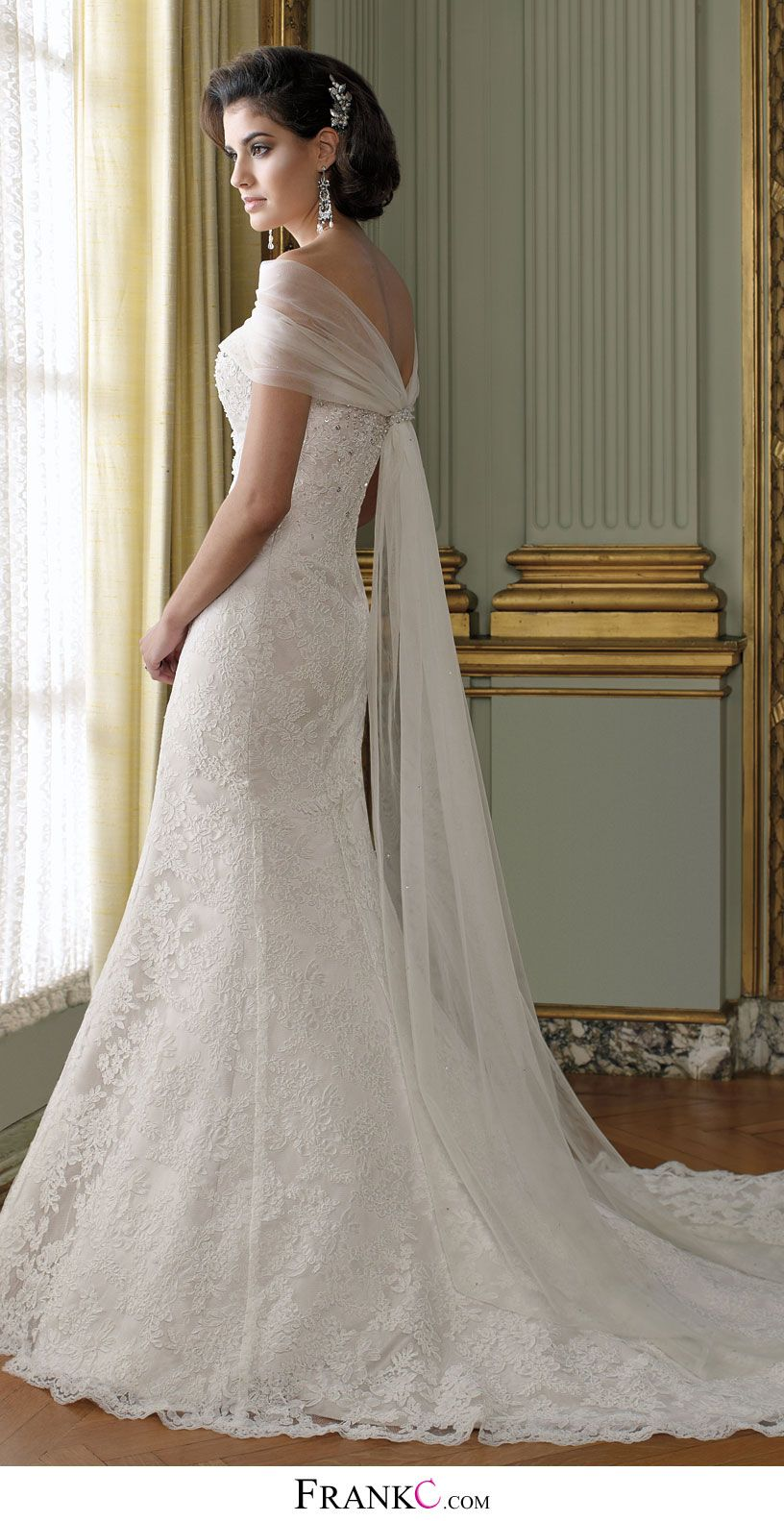 White mermaid wedding dress  mermaid wedding dresslace wedding dresswedding dress  Wedding