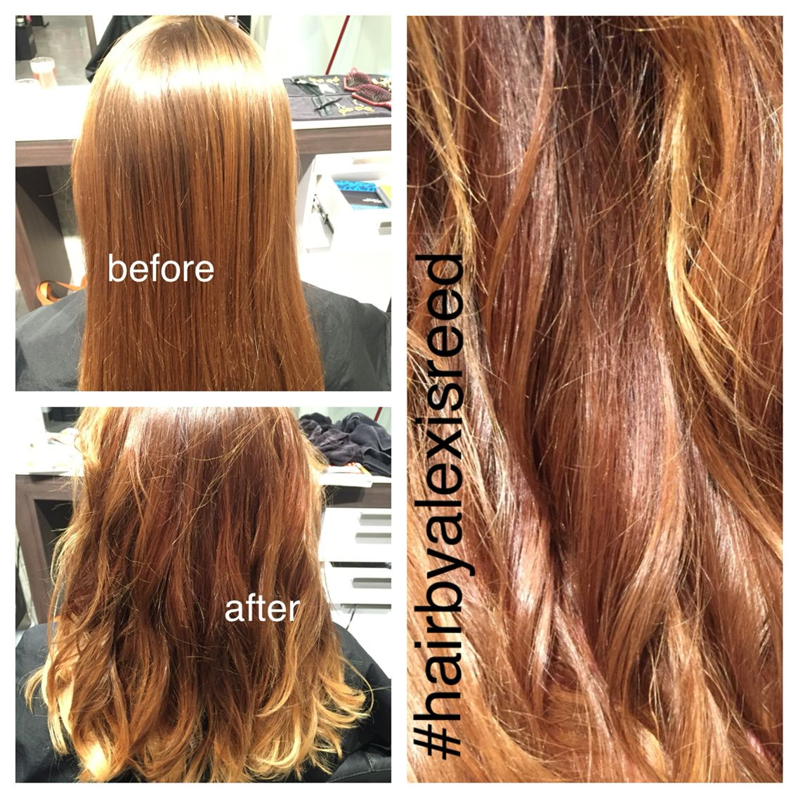 Lightened her ends and darkened her regrowth #fiesty #hairbyalexisreed