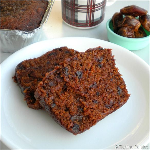 Eggless Dates Cake Recipe  Vegan Dates Cake is part of Eggless cake recipe - Eggless Dates Cake Recipe  Soft and moist Vegan Dates Cake as it has no milk, butter or eggs and baked with whole wheat flour and a water base