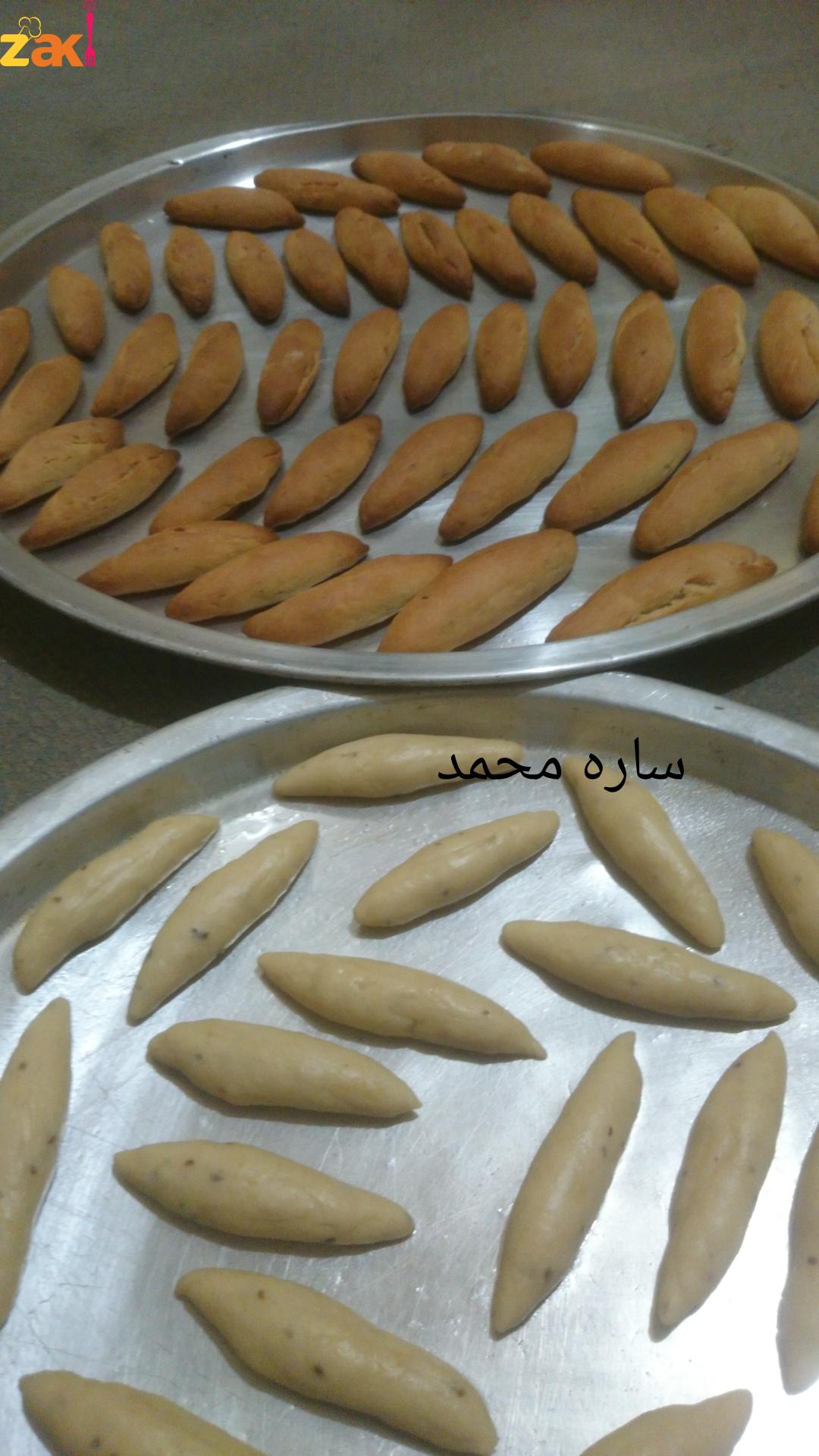 كعك اليانسون زاكي Arabic Food Lebanese Desserts Middle Eastern Desserts