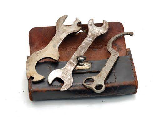 Vintage Bike Tool Kit Bike Tools Antique Tools Vintage Tools