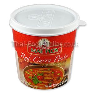 Red Curry Paste (Large Tub)
