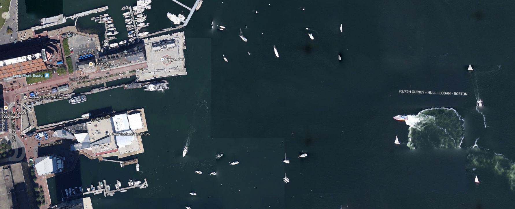 Codzilla from Space! Great shot by Google Earth! #Boston ...