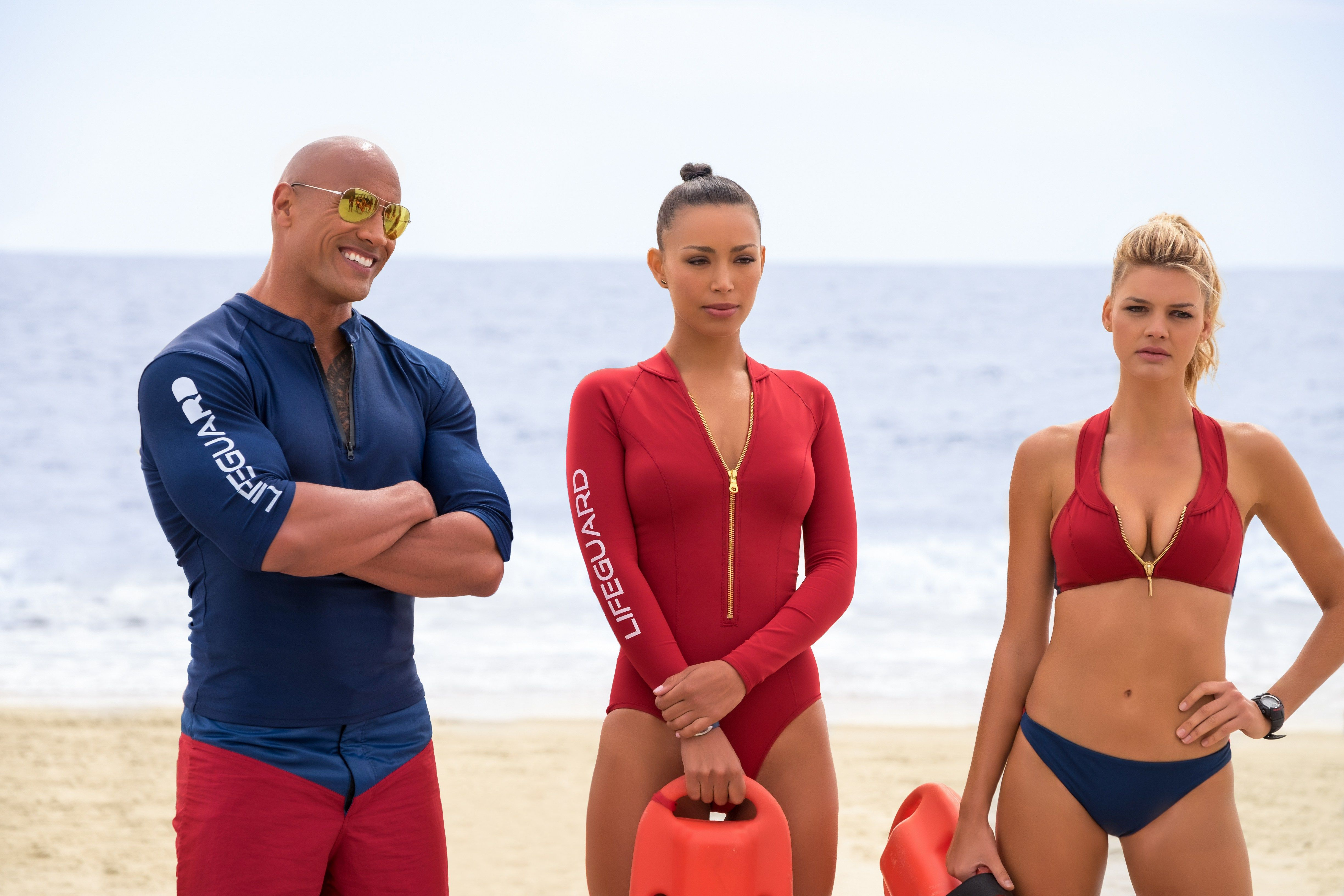 There S Lots Of Hot Bodies And Lots Of Laughs In The Big Screen Version Of Baywatch Goldie Reviews The Film And En Baywatch Movie Kelly Rohrbach Baywatch 2017