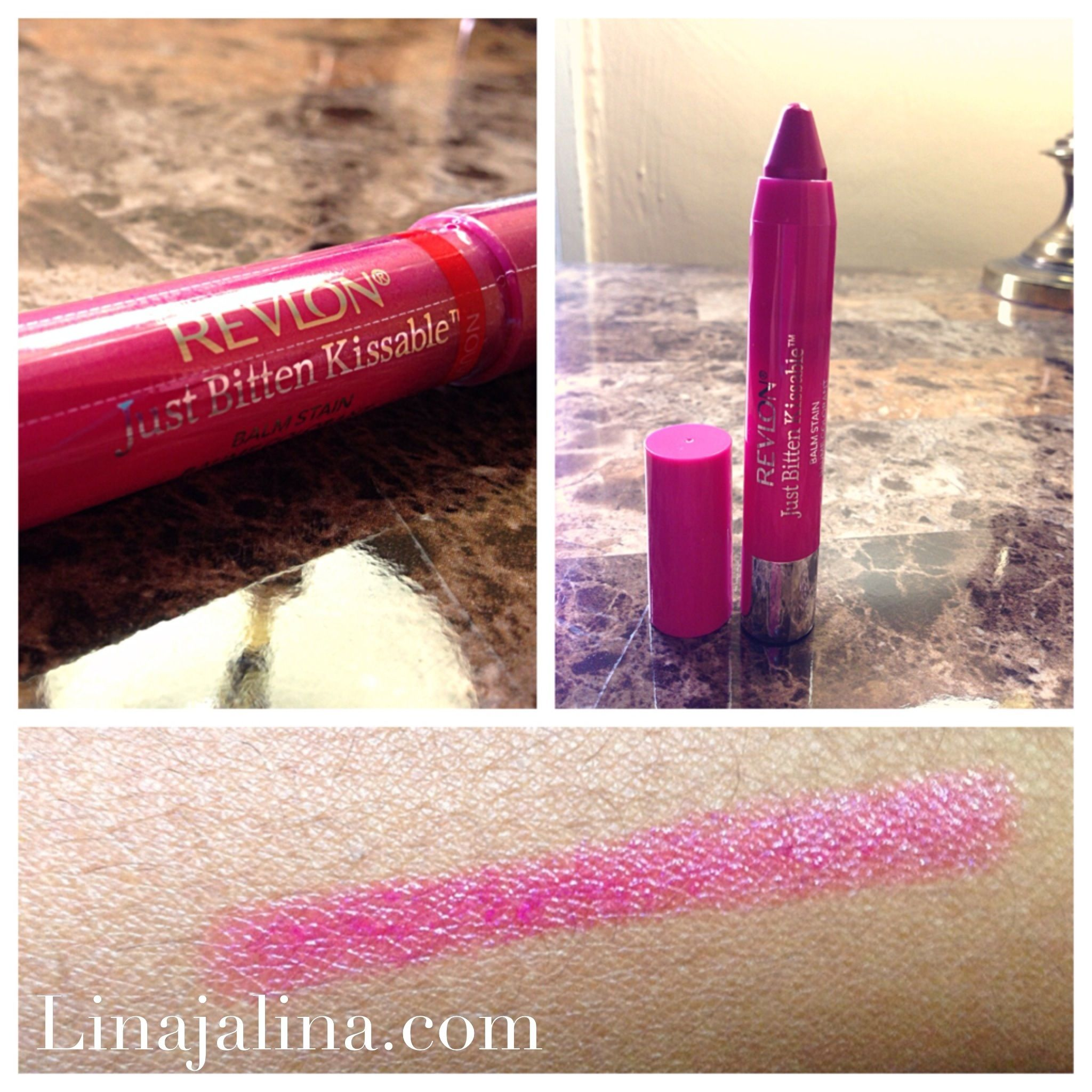 My fav lip stains by Revlon just bitten kissable  Linajalina.com  #revlon #justbitten #lipstains #blogger #linajalina