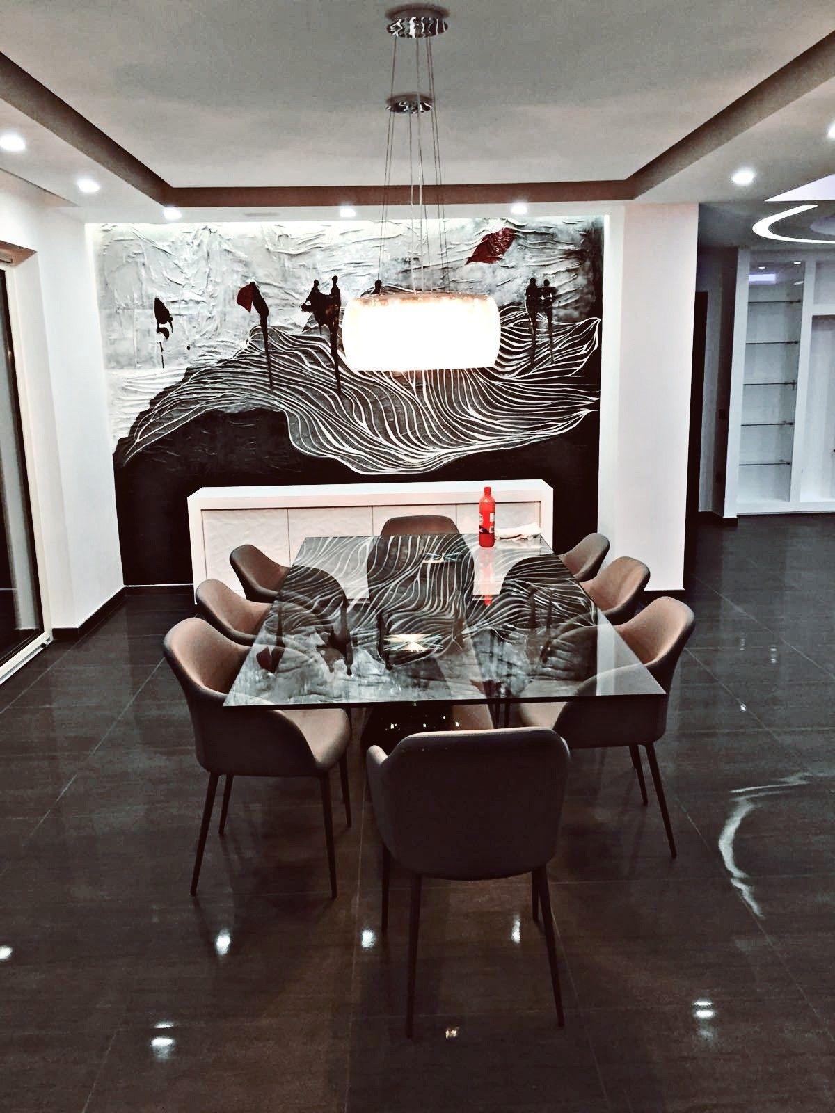 Decorazione polimatica gesso e tela. @ila_0b interior designer https ...