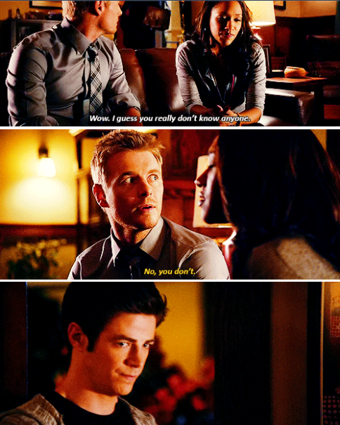 Ugh I just love Barry and Eddie's bromance I want to see more of it.