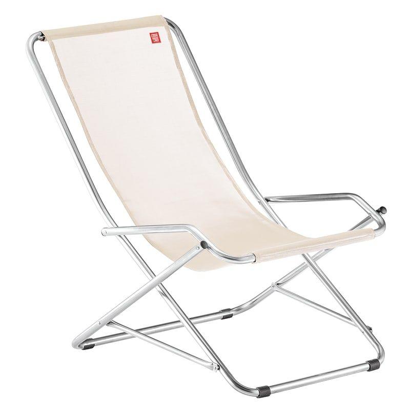 Sedie A Sdraio In Offerta.Sedia A Sdraio Pieghevole Swing In Alluminio Naturale Sedia