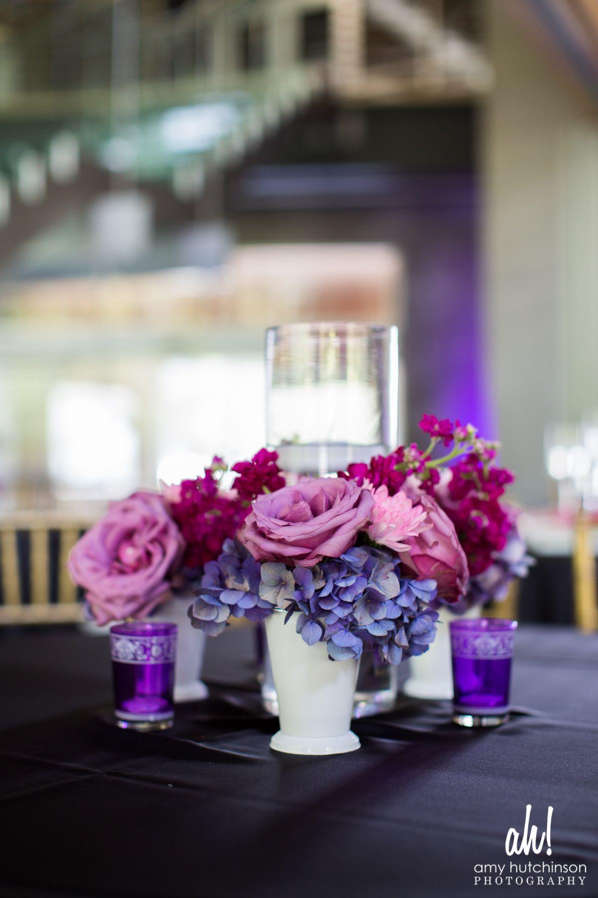 Lavender decor for wedding purple centerpieces mississippi wedding jackson mississippi