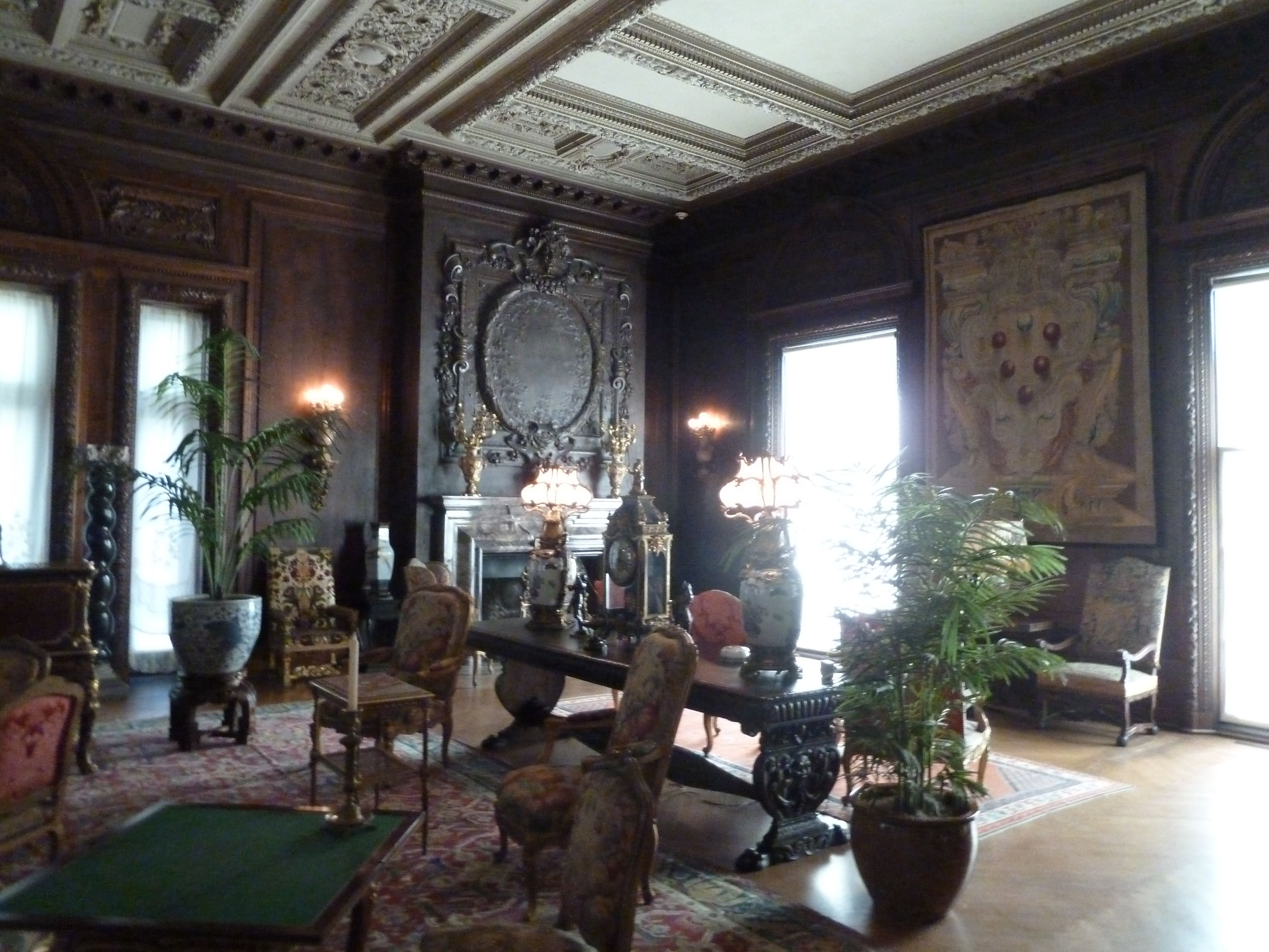 Vanderbilt Mansion Living Room