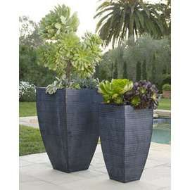 Modern Planters flanking garage planter ideas | patio ideas! | pinterest | nyc